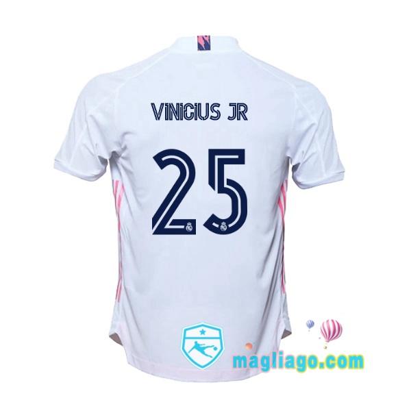 Shop Online Maglia Real Madrid (Vinicius Jr 25) Uomo Prima 20/21 ...